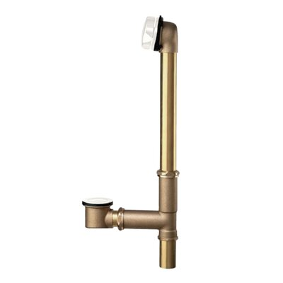 Universal Leg Tub Drain Finish: Polished Brass