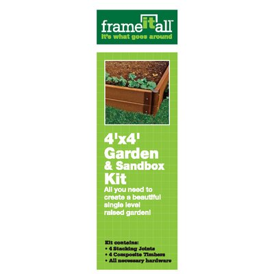 SCENERY SOLUTIONS Frame it all Garden and Sandbox Kit at Sears.com