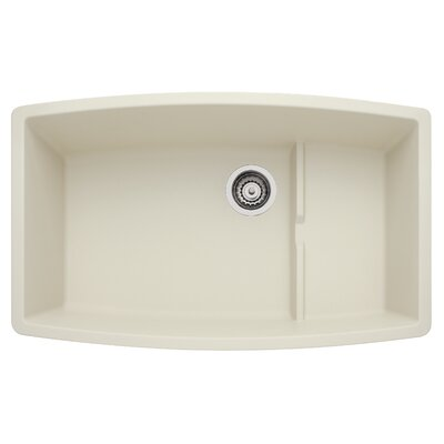 Performa 32 x 19.5 Cascade Kitchen Sink Finish: Biscuit