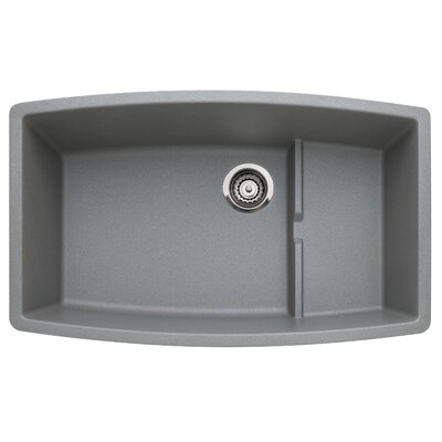 Performa 32 x 19.5 Cascade Kitchen Sink Finish: Metallic Gray