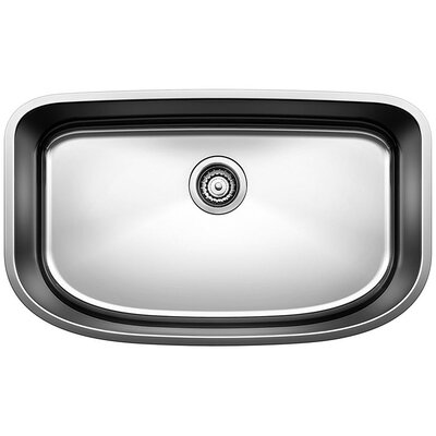 One 30 x 18  Super Single Bowl Undermount Kitchen Sink