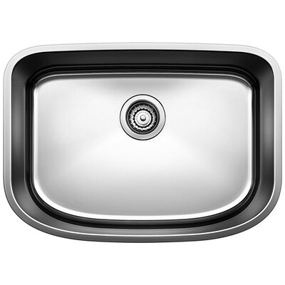 One 25 x 18 Single Bowl Undermount Kitchen Sink