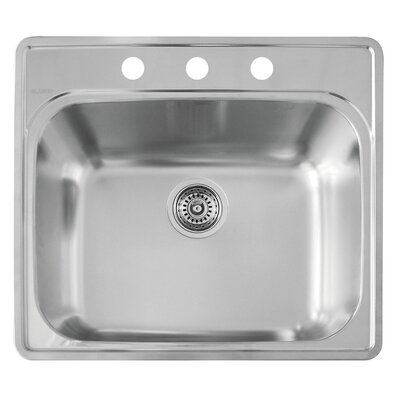 Essential 25 x 22 Laundry Kitchen Sink