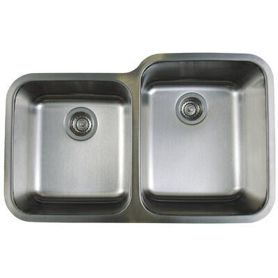Stellar 32.3 x 20.5 Reverse Bowl Kitchen Sink