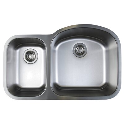 Stellar 31.75 x 20.5 Reverse Bowl Kitchen Sink