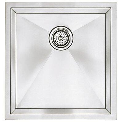 Precision 19 x 18 Single Bowl Kitchen Sink