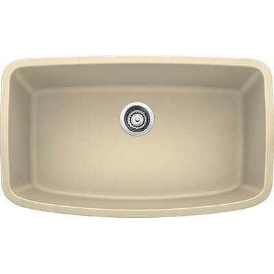 Valea 32 x 19 Super Single Undermount Kitchen Sink Finish: Biscotti