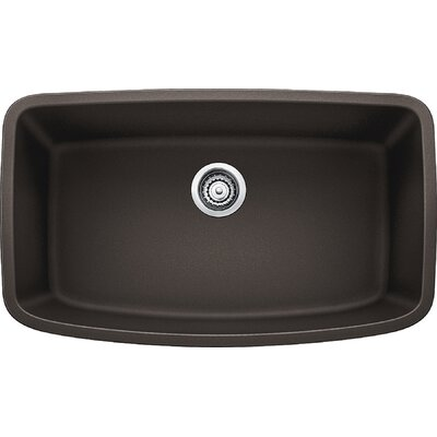 Valea 32 x 19 Super Single Undermount Kitchen Sink Finish: Cafe Brown