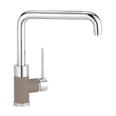 Purus Single Handle Kitchen Faucet Finish: Truffle
