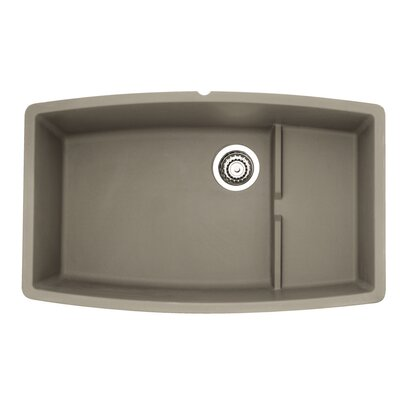 Performa 32 x 19.5 Cascade Kitchen Sink Finish: Truffle