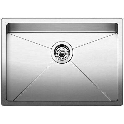 Quatrus 25 x 18 Single Bowl Undermount Kitchen Sink