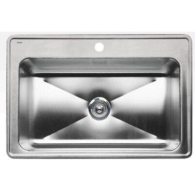 Magnum 32 x 22 Single Deep Bowl Drop-in Kitchen Sink