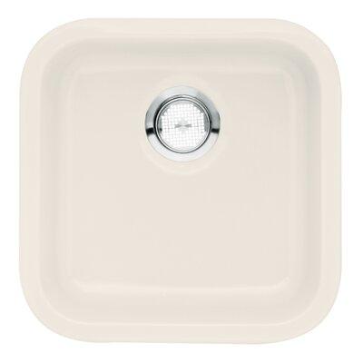 Cerana 17.25 x 17.25 Undermount Bar Sink Kitchen Sink Finish: Biscuit