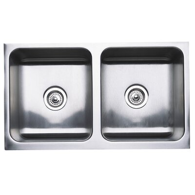 Magnum 32 x 18.5 Equal Double Bowl Kitchen Sink
