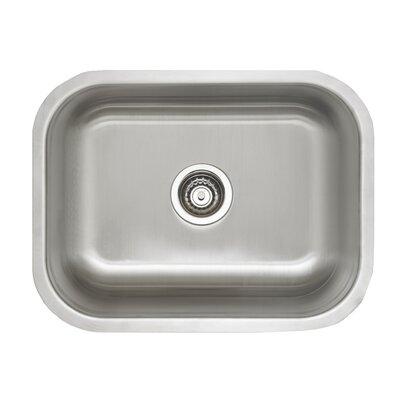 Stellar 23 x 17.75 Laundry Undermount Kitchen Sink