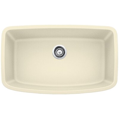Valea 32 x 19 Super Single Undermount Kitchen Sink Finish: Biscuit