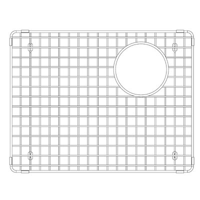 Precis 13.88 x 18 Stainless Steel Sink Grid