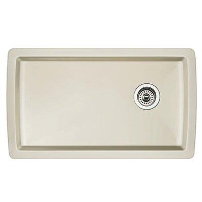 Diamond 33.5 x 18.5 Undermount Kitchen Sink Finish: Biscuit