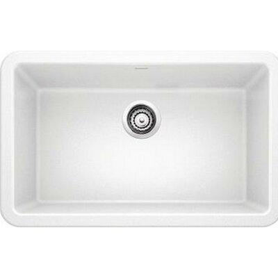 Ikon 29.32 x 18.25 Kitchen Sink Finish: White