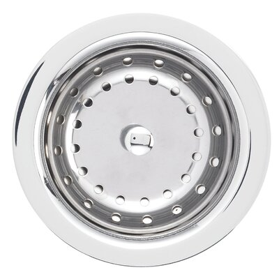 Deluxe Kitchen Sink Strainer Finish: Polished Chrome