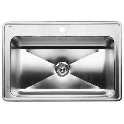 Magnum 33 x 22 Single Bowl Drop-In Kitchen Sink