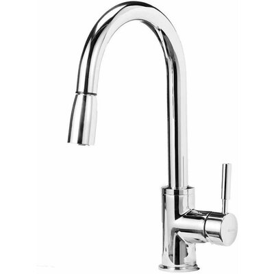 Sonoma Pull Down Single Handle Kitchen Faucet Finish: Stainless Steel