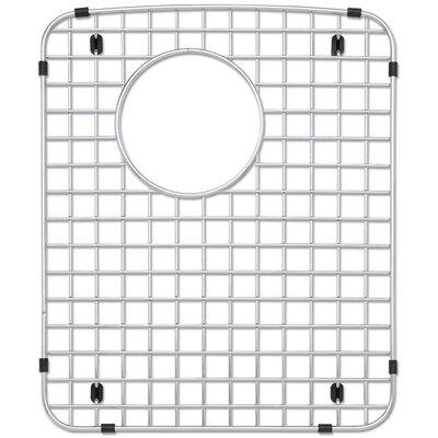 12.75 Stainless Steel Kitchen Sink Grid Drain Location: Left