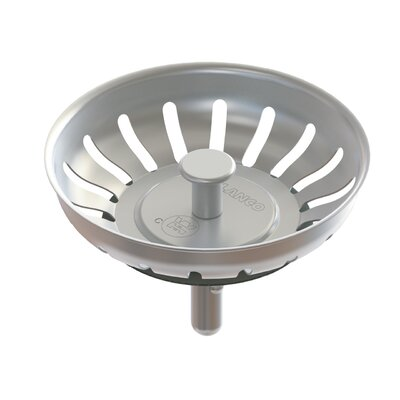 "Premium Stainless Steel Crump Cup 3.25"" Drain 406301"