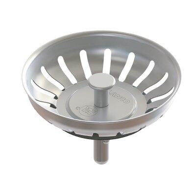 "Premium Stainless Steel Crump Cup 3.25"" Drain 406301"