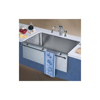 Magnum 30 x 18.5 Large Single Bowl Kitchen Sink