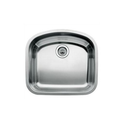 Wave 22.44 x 20.44 Single Bowl Undermount Kitchen Sink
