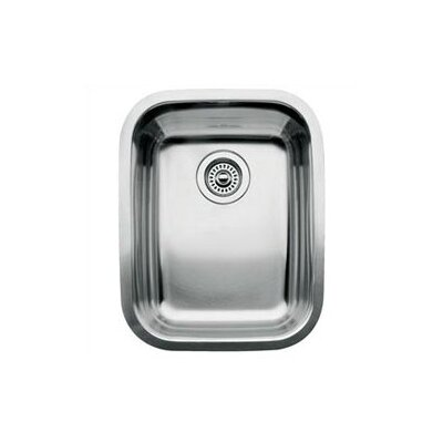 Supreme 16.13 x 20.44 Single Bowl Undermount Kitchen Sink