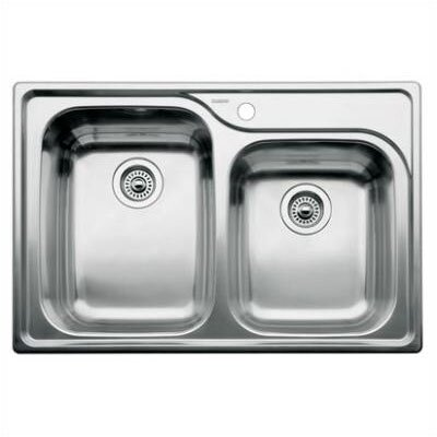 Supreme 33 x 22 Bowl Kitchen Sink