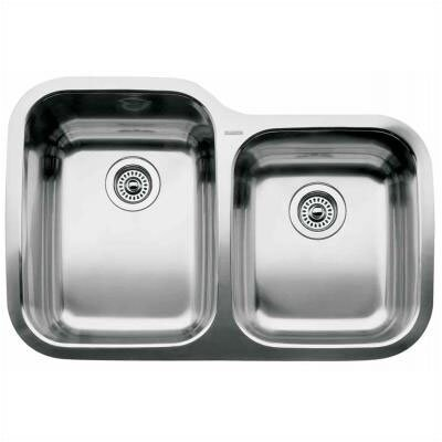 Supreme 31.31 x 20.88 Bowl Undermount Kitchen Sink