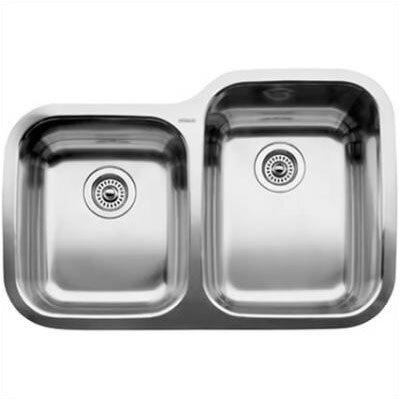 """Supreme 31.31"""" x 20.88"""" Reverse Bowl Undermount Kitchen Sink 440233"""