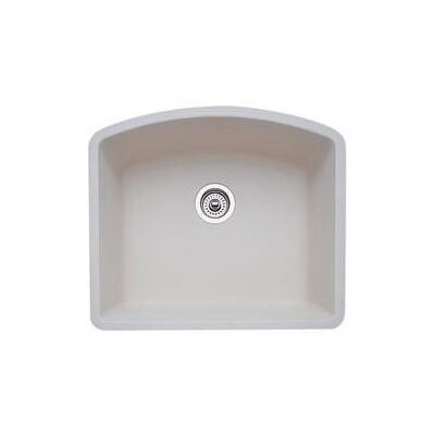 Diamond 24 x 20.81 Single Bowl Undermount Kitchen Sink Finish: Biscuit