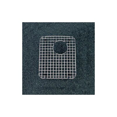 12.75 Stainless Steel Kitchen Sink Grid Drain Location: Right