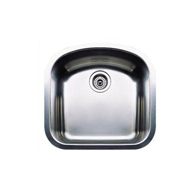 Wave 19.69 x 20.5 Plus Single Bowl Undermount Kitchen Sink