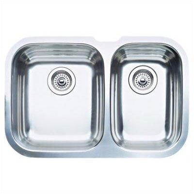 Niagara 27.5 x 18.13 Bowl Undermount Kitchen Sink