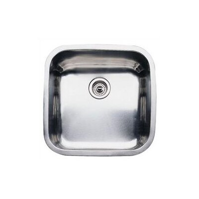 Supreme 20.5 x 20.5 Single Bowl Undermount Kitchen Sink
