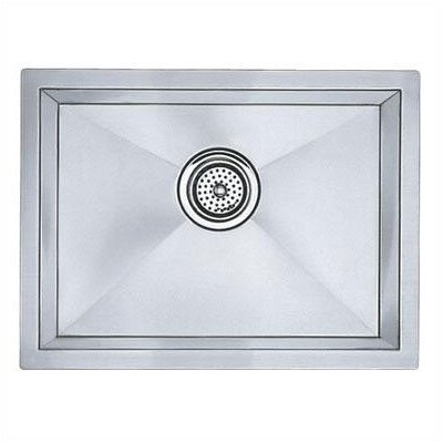 Precision 20 x 15 Medium Bowl Undermount Kitchen Sink with Horizontal Orientation