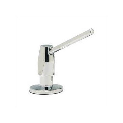 Deluxe Soap & Lotion Dispenser Finish: Polished Chrome