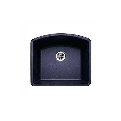 Diamond 24 x 20.81 Single Bowl Undermount Kitchen Sink Finish: Anthracite