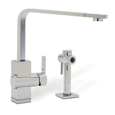 Low Price Blanco Ziros Single Handle Single Hole Kitchen Faucet Finish /  Side Spray: Stainless