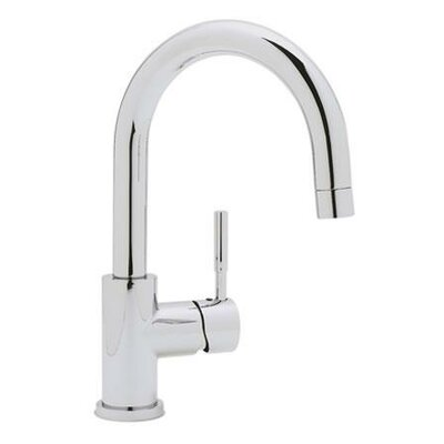 Meridian Single Handle Deck Mounted Bar Faucet  with Lever Handle Finish: Polished Chrome