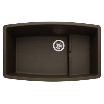 Performa 32 x 19.5 Cascade Kitchen Sink Finish: Cafe Brown