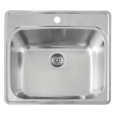 25 x 22 Essential Kitchen Sink