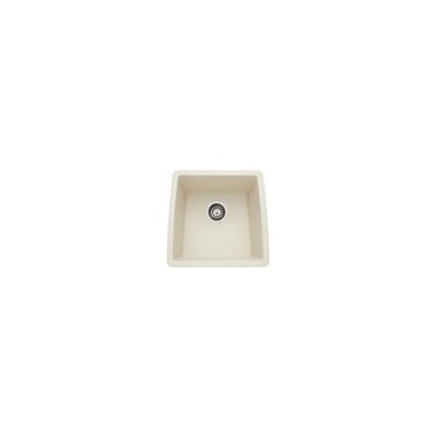 Performa 17.5 x 17 Silgranit II Single Bowl Undermount Bar Sink Finish: Biscuit