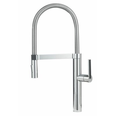 Linus Pull Out Single Handle Kitchen Faucet Finish: Polished Chrome