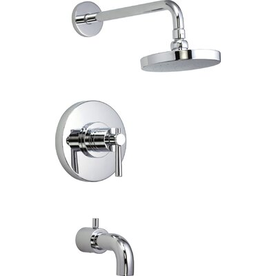 Elements of Design NuvoFusion Tub and Shower Faucet Three Handle ...